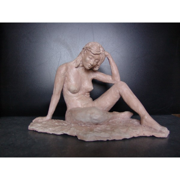 waxed clay sculpture-Audrey